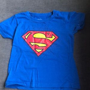 Justice league Superman T-shirt size 4